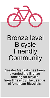 Bronze level Bicycle Friendly Community