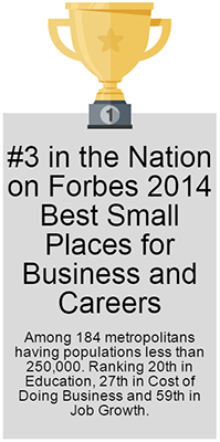 #3 on Forbes 2014