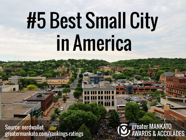 5 Best Small City In America Greater Mankato Growth