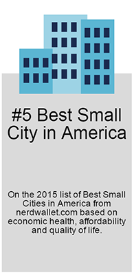 #5 Best Small City in America