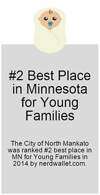 #2 Best Place in MN for Young Families