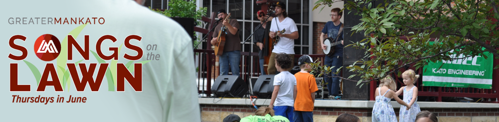 Songs on the Lawn in City Center Mankato