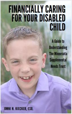 Front Cover of Book Financially Caring for your Disabled Child, A guide to understanding the Minnesota Supplemental Needs Trust